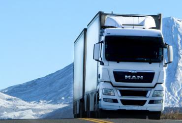 Kamion prevoz robe
